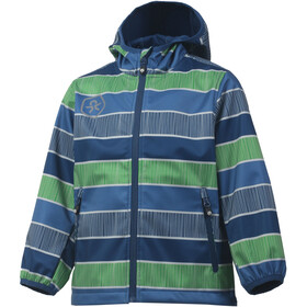 Color Kids Tadimir AOP Softshell Jacket Kids Jeans Blue